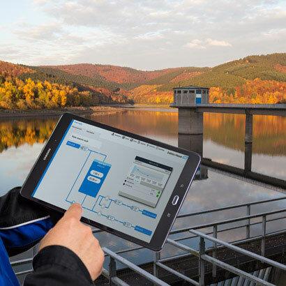 Wasserdaten digital erfassen