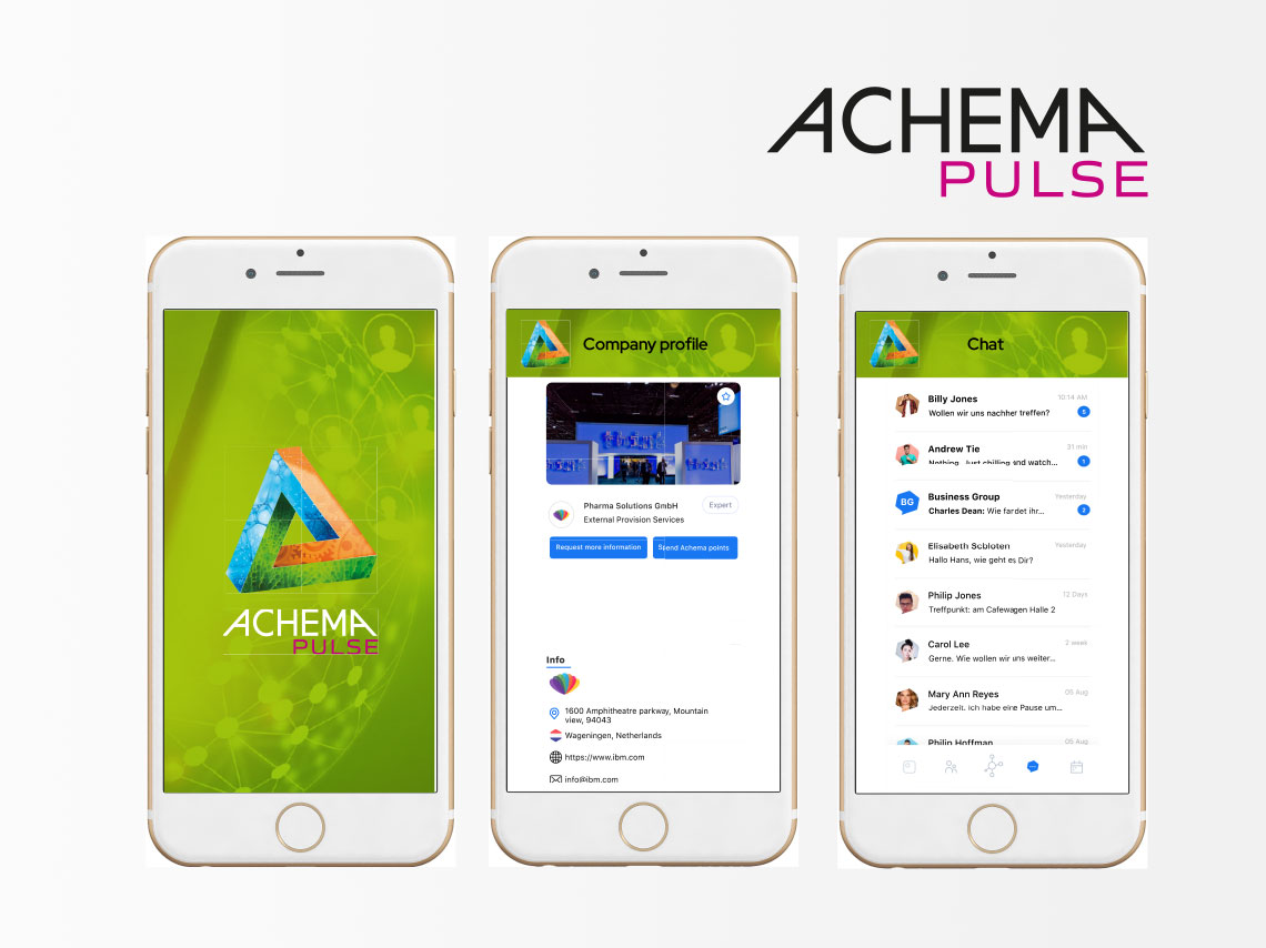 ACHEMA Pulse App