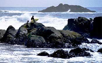 Surfer at Matanzas