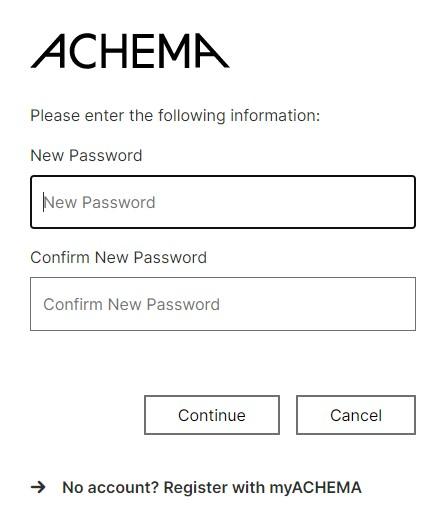 Assign personal password